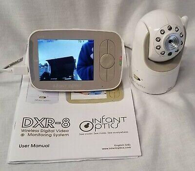 INFANT OPTICS DXR-8 Video Baby Monitor w/ Interchangeable Optical Zoom Lens C-11