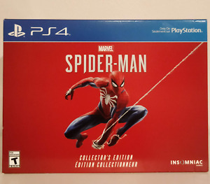 BRAND NEW Spiderman Collector's Edition PS4 GAME NOT A CONSOLE
