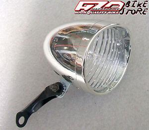 Luce-fanale-bici-LED-anteriore-034-Cipolla-Olanda-034-Retro-039-con-supporto
