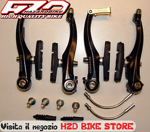 Freni-V-Brake-alluminio-TEKTRO-Set-completo-ant-pos
