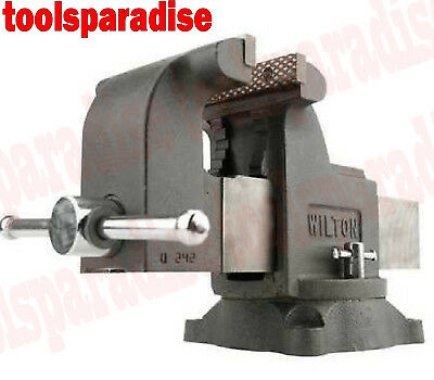 Wilton 5 Benchtop Spinning Swivel Base Vise Anvil Bench Clamp Vice