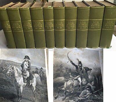 Histoire Du Consulat Et De L'Empire, Bibliothek der Freiherren von Fabrice 1845
