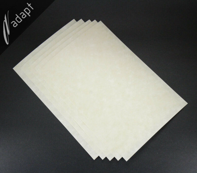 """Nomex 410 Insulation Paper 10 mil 0.010"""", 5 each 8""""x12"""" Sheets Aramid Electrical"""