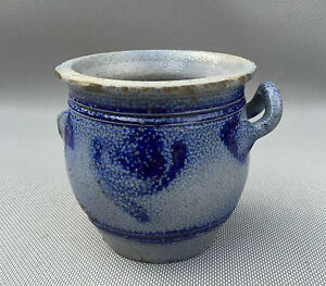 ancien pot en gr 233 s d alsace bleu pop d 233 co vintage antique pottery ebay