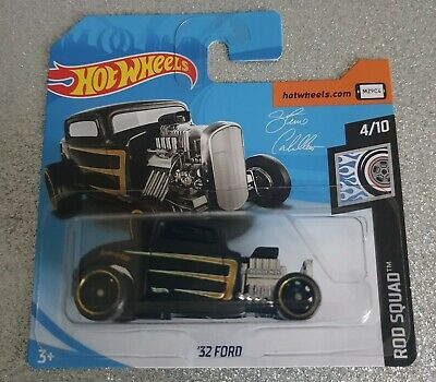 NEW!! HOT WHEELS `32 Ford HOT ROD (Steve caballero edition) COLLECTABLE MODEL