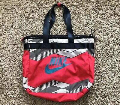 Nike Womens Large Sports Gym Holiday Tote Bag Handbag