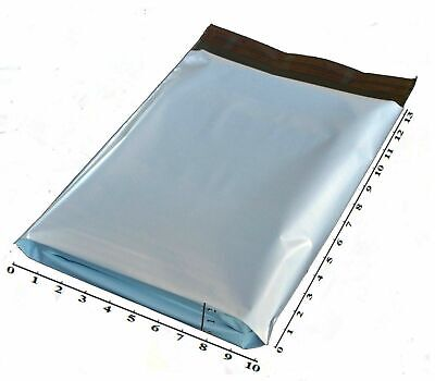 100 10x13x2 10x14 Poly Mailer Plastic Shipping Envelope Polymailer Gusset Expand