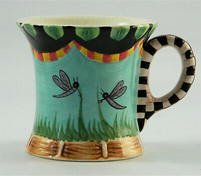 Dragonfly Pond Studio Peggy Fairfax Herrick for House of Hatten Dragonfly Teacup