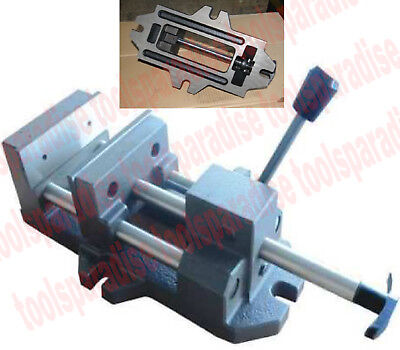 Precision Large 6 Jaw Drill Press Vise 1-78in. Throat Depth Quick Release Vice