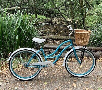 New British Rule Women's Basket Bike, Ladies Classic Bike