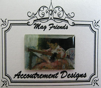 Accoutrement Designs Lady Stitching Needle Minder Magnet Mag Friends Needlepoint