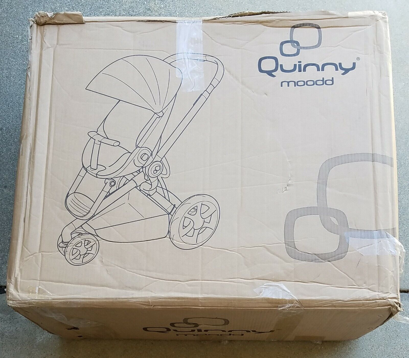 Quinny Moodd Pushchair Black Irony Standard Single Seat Stro