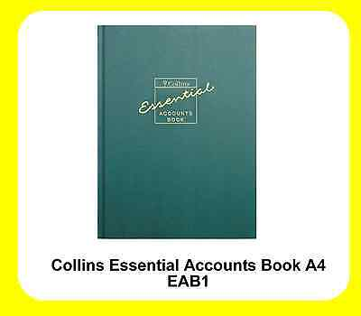 Collins A4 Accounts Record Book Accounting Tax Self Assessment - EAB1