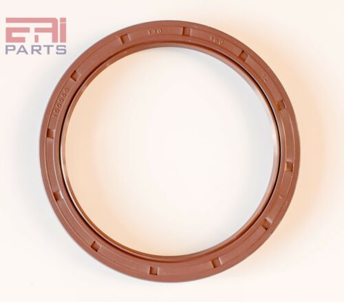 EAI Viton Oil Shaft Seal 130x160x12mm Grease Dbl Lip w/ Stainless Steel Spring