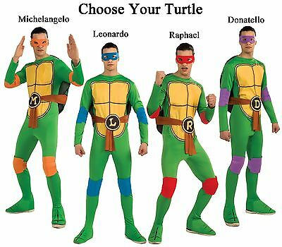 Adult TV Show TMNT Teenage Mutant Ninja Turtles Raph Mike Leo / Don Costume