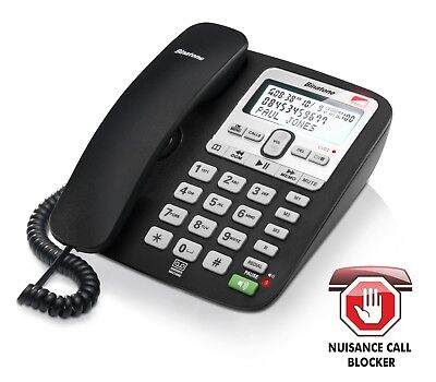 Binatone Landline Home Phone Telephone Call Blocker Answer Machine Caller ID