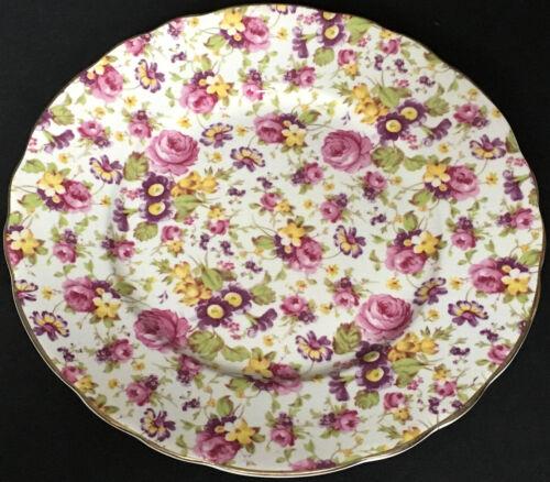Vintage James Kent Rapture Chintz 8 Inch Salad Plate