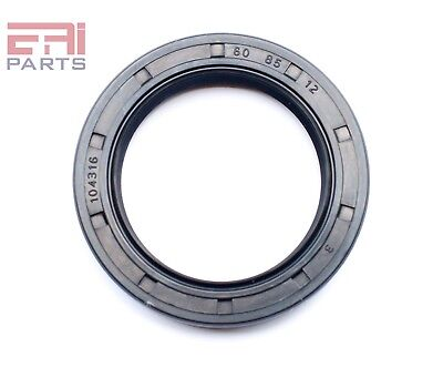 Oil And Grease Seal Tc60x85x12 Rubber Double Lip With Spring 60mmx85mmx12mm