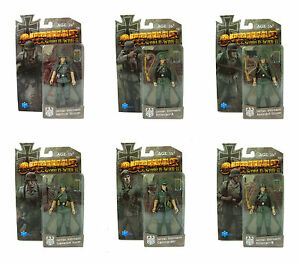 Two-Sets-OURWAR-WWII-German-Wehrmacht-Infantry-1-18-3-75-Inch-Action-Figures