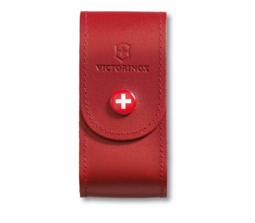 🌟 4.0521.1 VICTORINOX SWISS ARMY KNIFE LEATHER POUCH COVER for 91mm 5-8 layers
