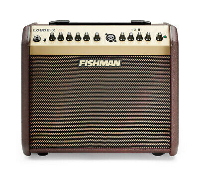 Fishman Loudbox Mini 60 Watt Acoustic Guitar Amp w/Bluetooth + Cover,PRO-LBT-500