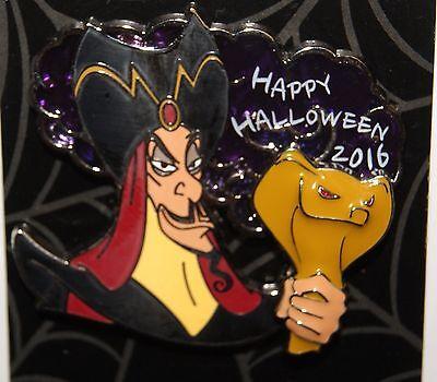 Disney Villain 2016 Happy Halloween JAFAR from ALADDIN Pin LE 3000](Halloween Villain)