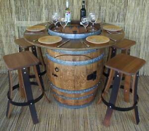 BARREL BISTRO SETTINGS www.glennfurniture.com.au  Ready for xmas