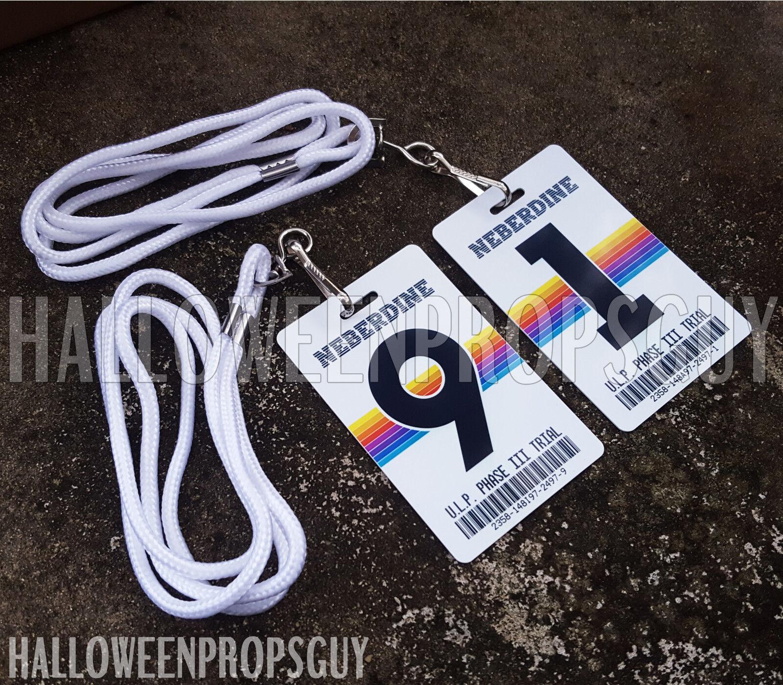Купить MANIAC Style NPB ID Card Replica w/ Clip - Dr. Fujita, Dr. Mantleray or ULP #
