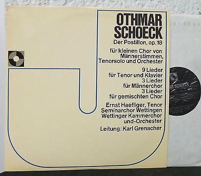 OTHMAR SCHOECK - Der Postillon  LP  Ernst Haeflinger  Karl Grenacher  Wettingen