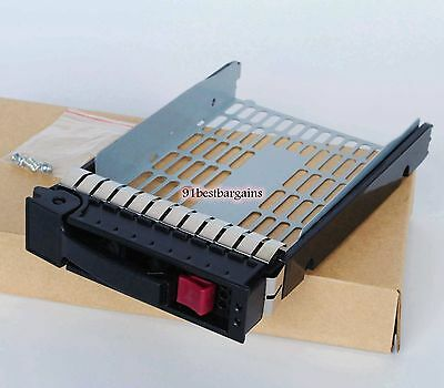 "HP ProLiant G5/G6/G7 3.5"" LFF SAS/SATA Hard Drive Tray Caddy 373211-001 @USA"