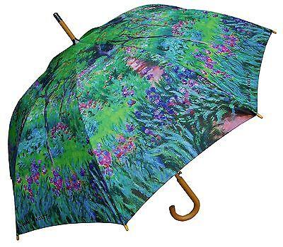 "Lot of 12 - Fashion & Artist Assorted Print Umbrellas-RainStoppers, 48"" Arc Auto"