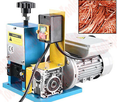 Electric Wire Insulation Remover Cable Stripping Machine Benchtop Stripper Tool
