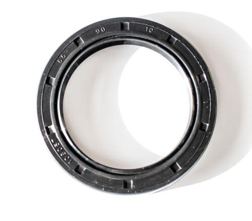 EAI Metric Oil Shaft Seal 65X90X10mm Dust Grease Seal TC Double Lip w/ Spring