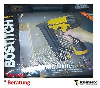 Stiftnagler Brads Nagler Bostitch BT1855-E + 1000 St. 50mm Stifte ()