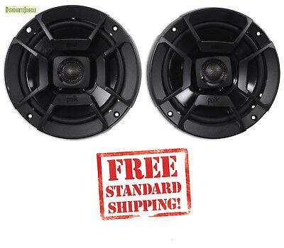 """(2) Polk Audio DB652 6.5"""" 300w Car/Marine/Motorcycle Speakers 6 1/2"""