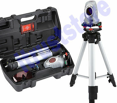 Rotating Laser Auto Level Plumb Tool With Tripod Stand Surveying Leveling Lazer
