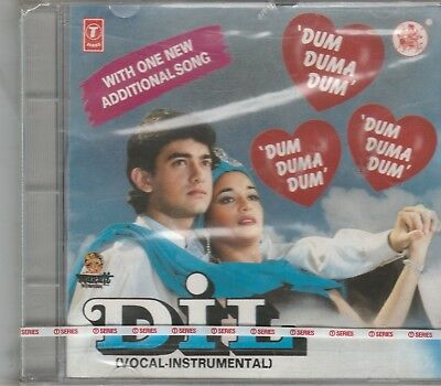 Used, Dil - Aamir Khan,Madhuri dixit [Cd] Music : Anand Milind - 1 st Edition Released for sale  Shipping to India