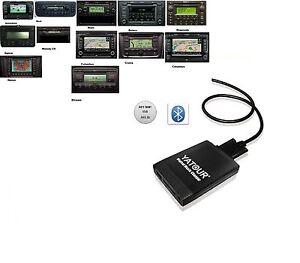 Bluetooth USB SD AUX MP3 Adapter Skoda 12 Pin Stream RCD 300 RCD 500