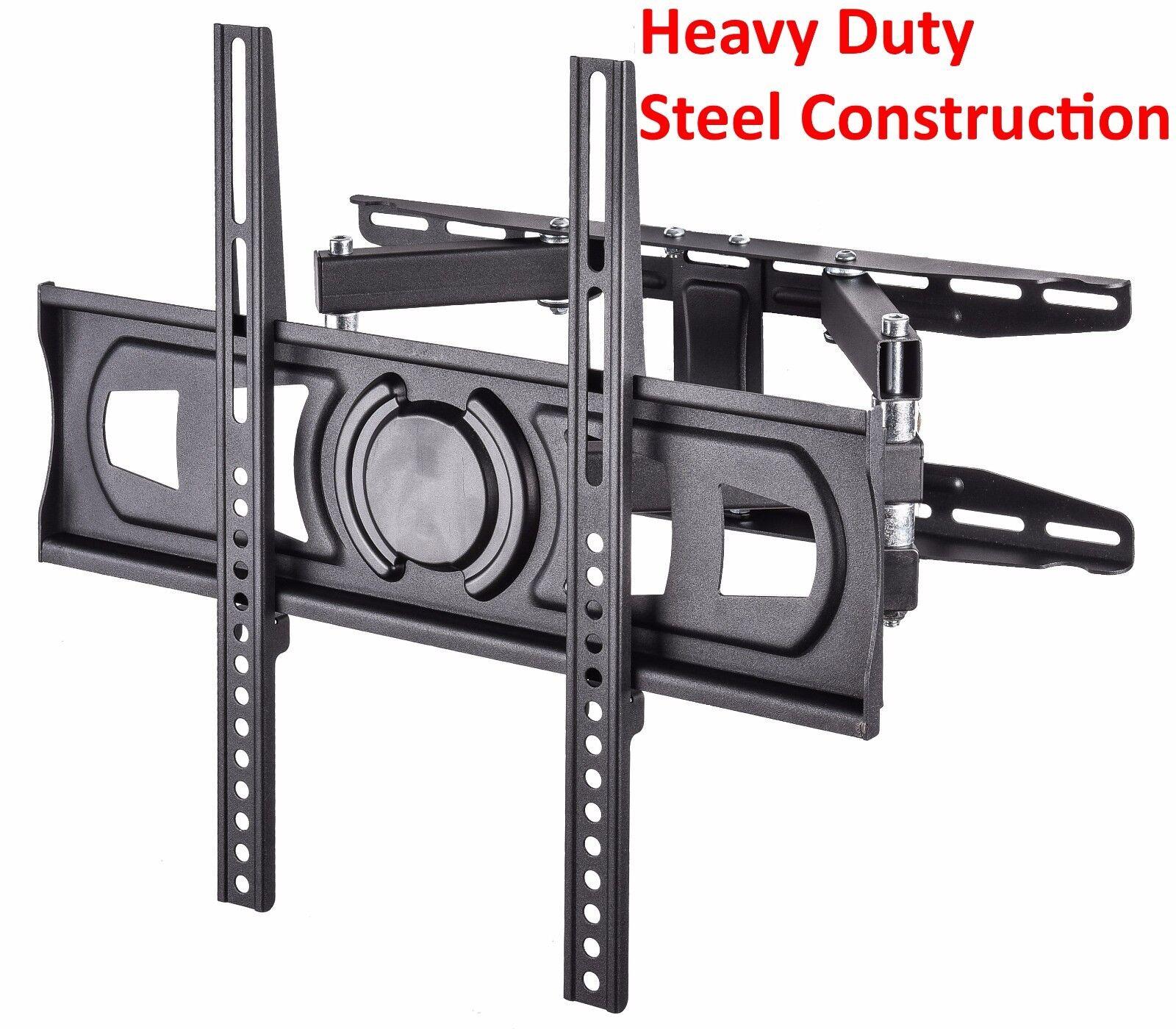 Articulating Smart TV Wall Mount Full Motion Swivel Bracket LCD LED 32-55 Inch