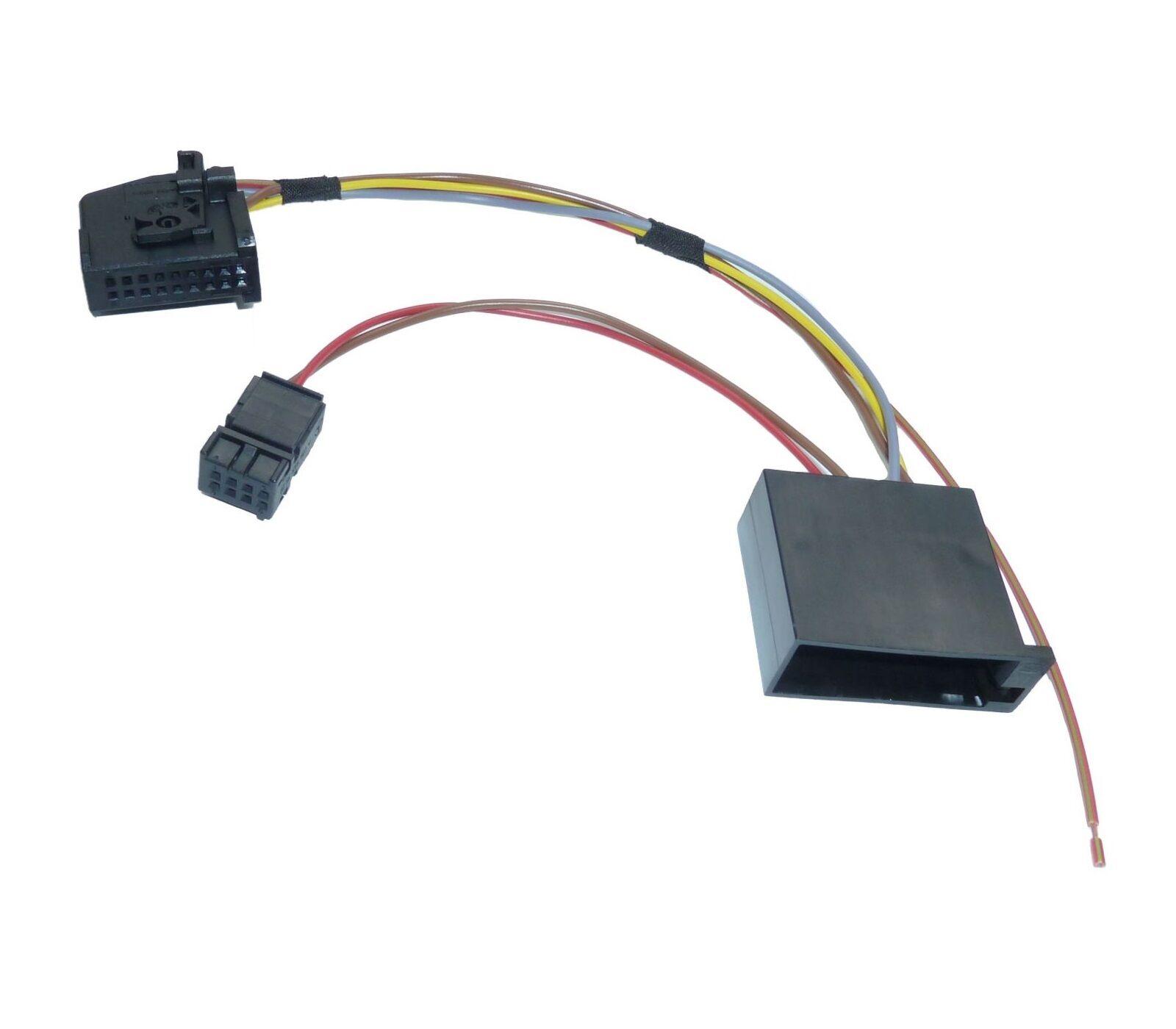 umr st satz adapter kabel f r mercedes audio 10 cd aps30. Black Bedroom Furniture Sets. Home Design Ideas