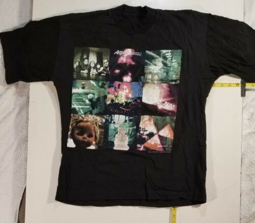 Anthrax Sound of White Noise 1993 multi-pic tour shirt. NOT a reprint