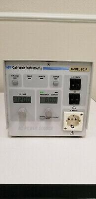 California Instruments 801p Ac Power Source Read