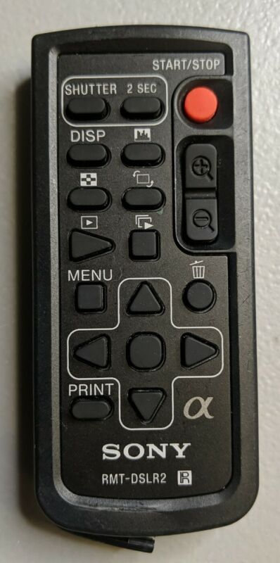 Sony RMT-DSLR2 IR Wireless Remote Control Commander for Digital SLR Camera