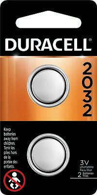 Duracell CR2032 Lithium Battery 3 Volt DL2032 2032 2 Pack comprar usado  Enviando para Brazil
