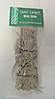 Sweetgrass Smudge Stick (Sage & Sweetgrass Smudge Stick: 5