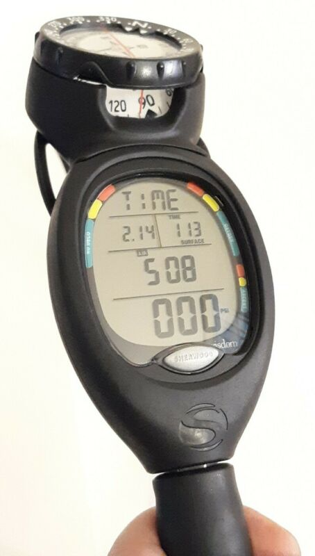 Sherwood WISDOM Integrated Scuba Dive Computer Air Nitrox Compass 5000psi Hose
