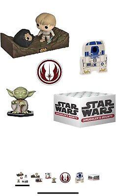 Disney Funko Star Wars Smuggler's Bounty Box | Dagobah Theme, Brand New Boxed