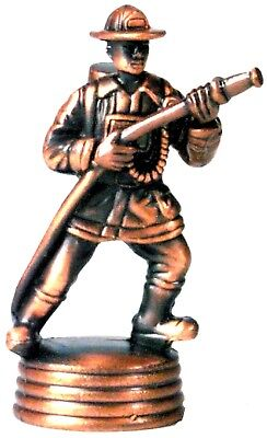 Fireman with Hose Die Cast Metal Collectible Pencil Sharpener (Fireman With Hose)