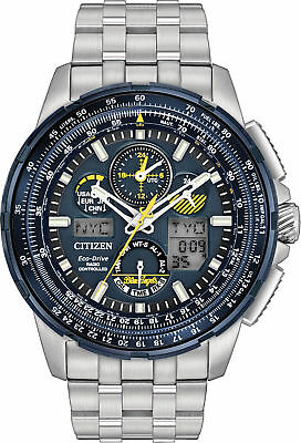 Citizen JY8058-50L Eco-Drive Blue Angels Skyhawk A-T Chronograph Watch