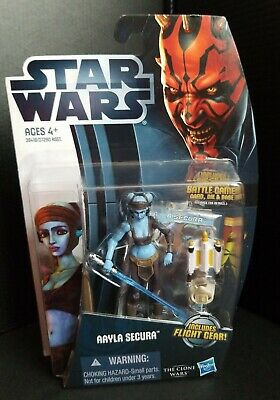 Star Wars The Clone Wars Aayla Secura Hasbro 2012